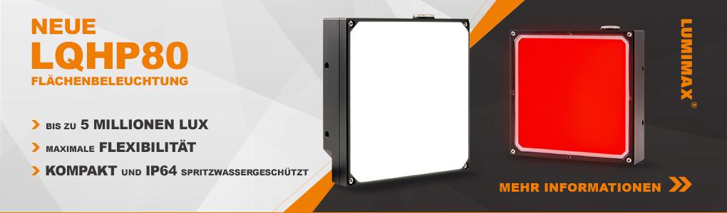 Neue LUMIMAX® LQHP80 Flächenbeleuchtung