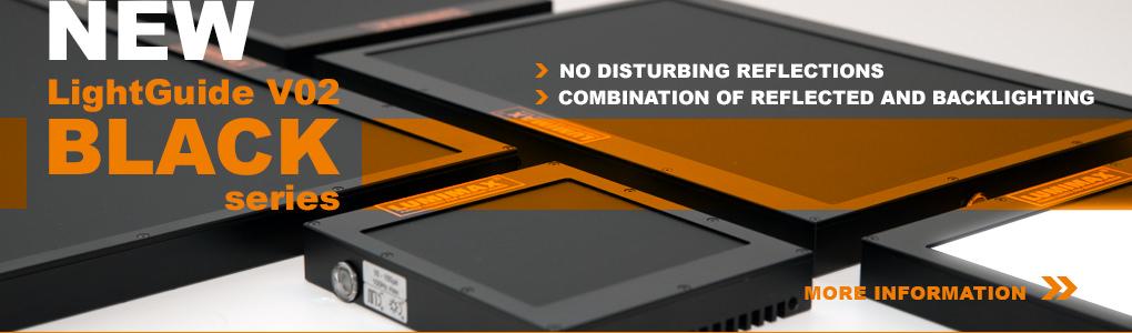 New LUMIMAX® LGV02-BLACK-series