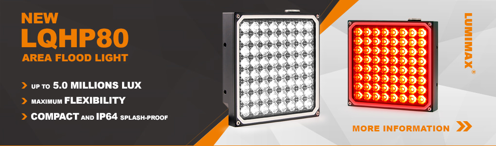 New LUMIMAX® LQHP80 Area Flood Light