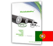 Product brochure VisioCablePro® in Portuguese